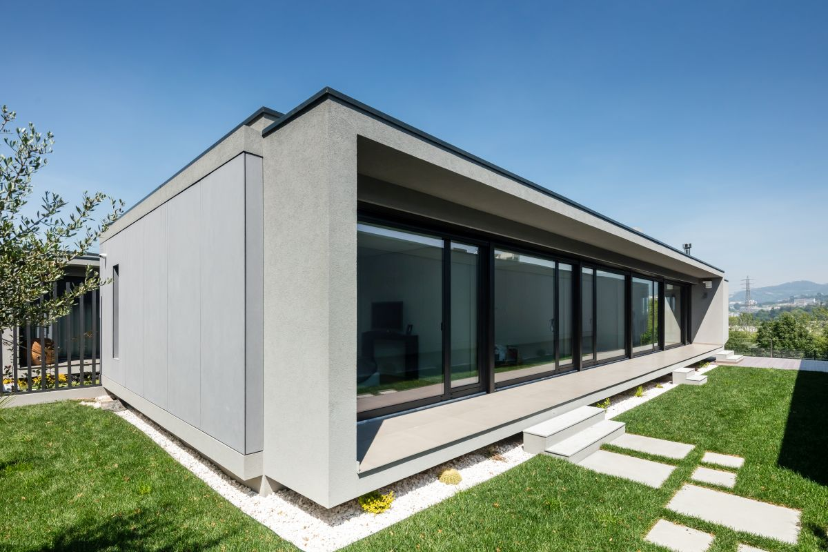 Each house is framed on two sides by a small courtyard with sufficient privacy and lovely views
