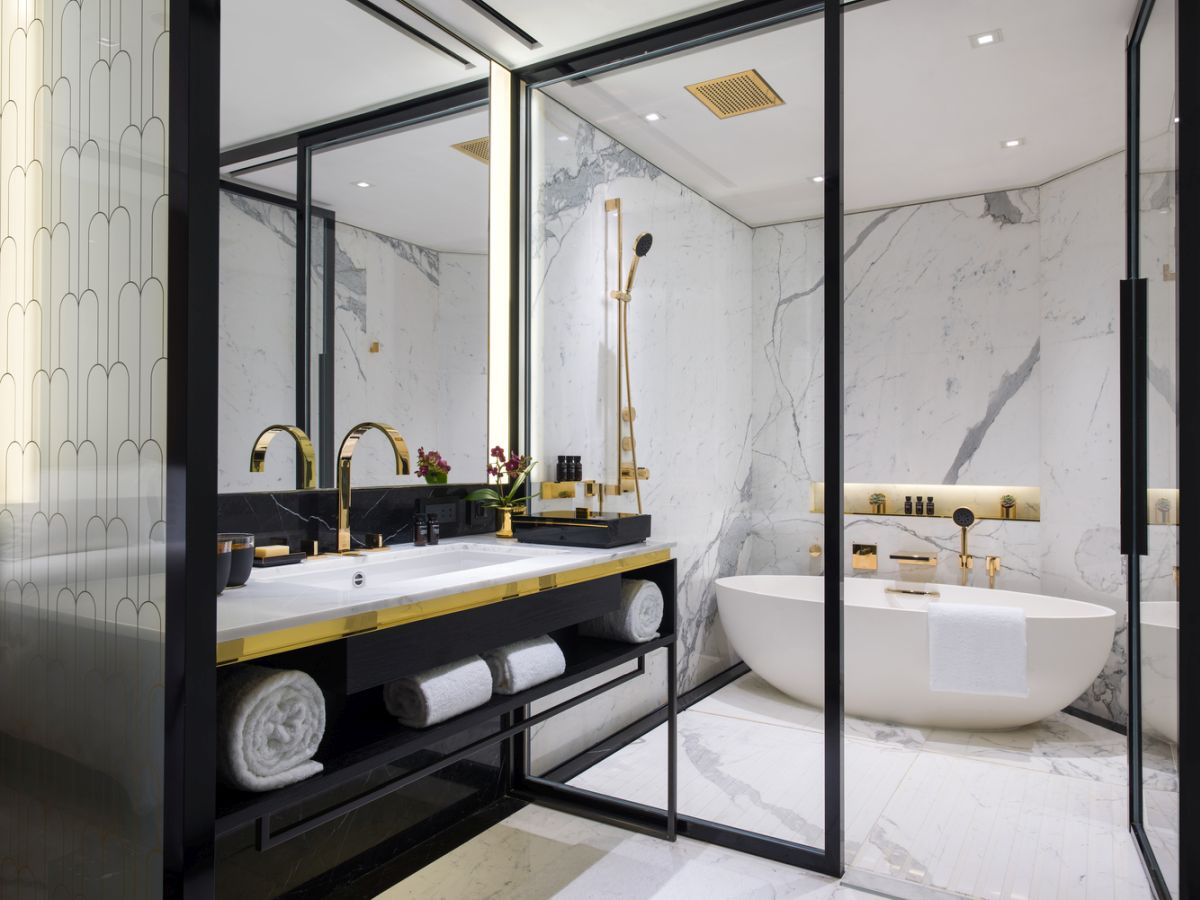 1563188427 142 20 exquisite shower designs to inspire your next remodel - 20 Exquisite Shower Designs To Inspire Your Next Remodel