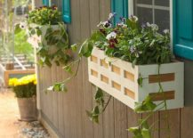 1563290188 54 27 diy flower box planters for fancy windows and beyond - 27 DIY Flower Box Planters for Fancy Windows and Beyond