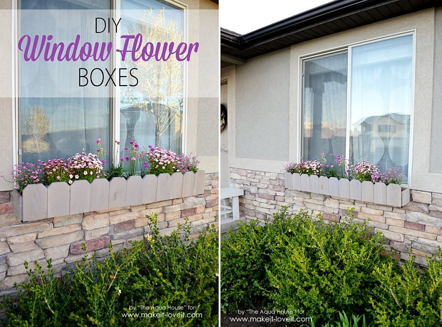 1563290188 605 27 diy flower box planters for fancy windows and beyond - 27 DIY Flower Box Planters for Fancy Windows and Beyond