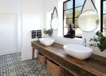 1563478667 143 25 cool bathroom color trends for summer and beyond - 25 Cool Bathroom Color Trends for Summer and Beyond