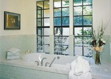 1563478667 186 25 cool bathroom color trends for summer and beyond - 25 Cool Bathroom Color Trends for Summer and Beyond