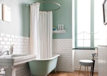 1563478667 29 25 cool bathroom color trends for summer and beyond - 25 Cool Bathroom Color Trends for Summer and Beyond