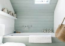 1563478667 595 25 cool bathroom color trends for summer and beyond - 25 Cool Bathroom Color Trends for Summer and Beyond