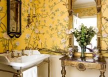 1563478667 990 25 cool bathroom color trends for summer and beyond - 25 Cool Bathroom Color Trends for Summer and Beyond