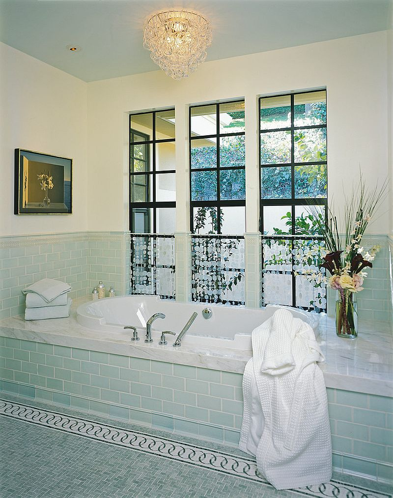1563478668 232 25 cool bathroom color trends for summer and beyond - 25 Cool Bathroom Color Trends for Summer and Beyond