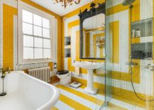 1563478668 268 25 cool bathroom color trends for summer and beyond - 25 Cool Bathroom Color Trends for Summer and Beyond