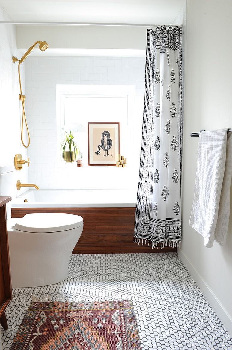 1563478668 490 25 cool bathroom color trends for summer and beyond - 25 Cool Bathroom Color Trends for Summer and Beyond