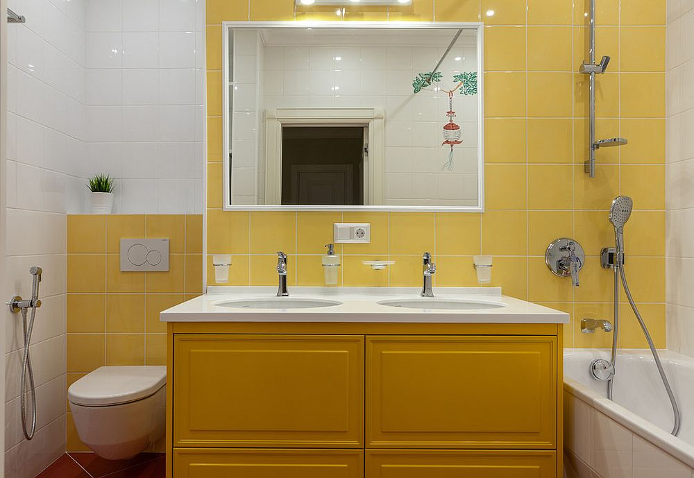 1563478668 744 25 cool bathroom color trends for summer and beyond - 25 Cool Bathroom Color Trends for Summer and Beyond