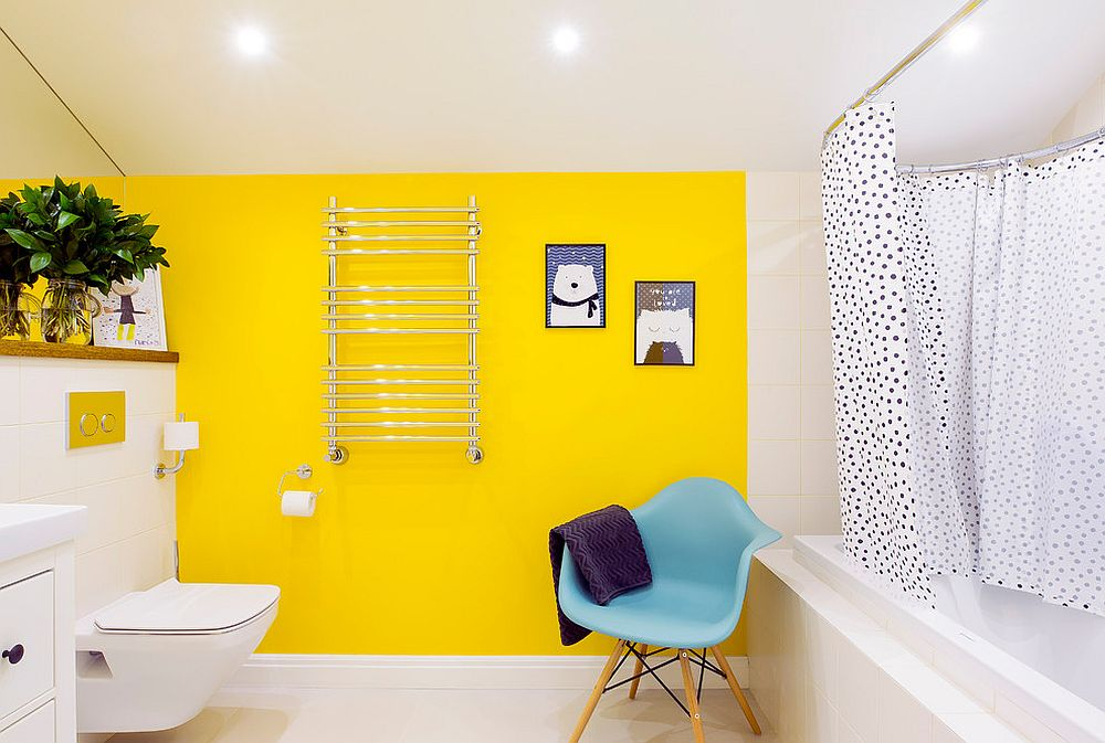 1563478668 75 25 cool bathroom color trends for summer and beyond - 25 Cool Bathroom Color Trends for Summer and Beyond