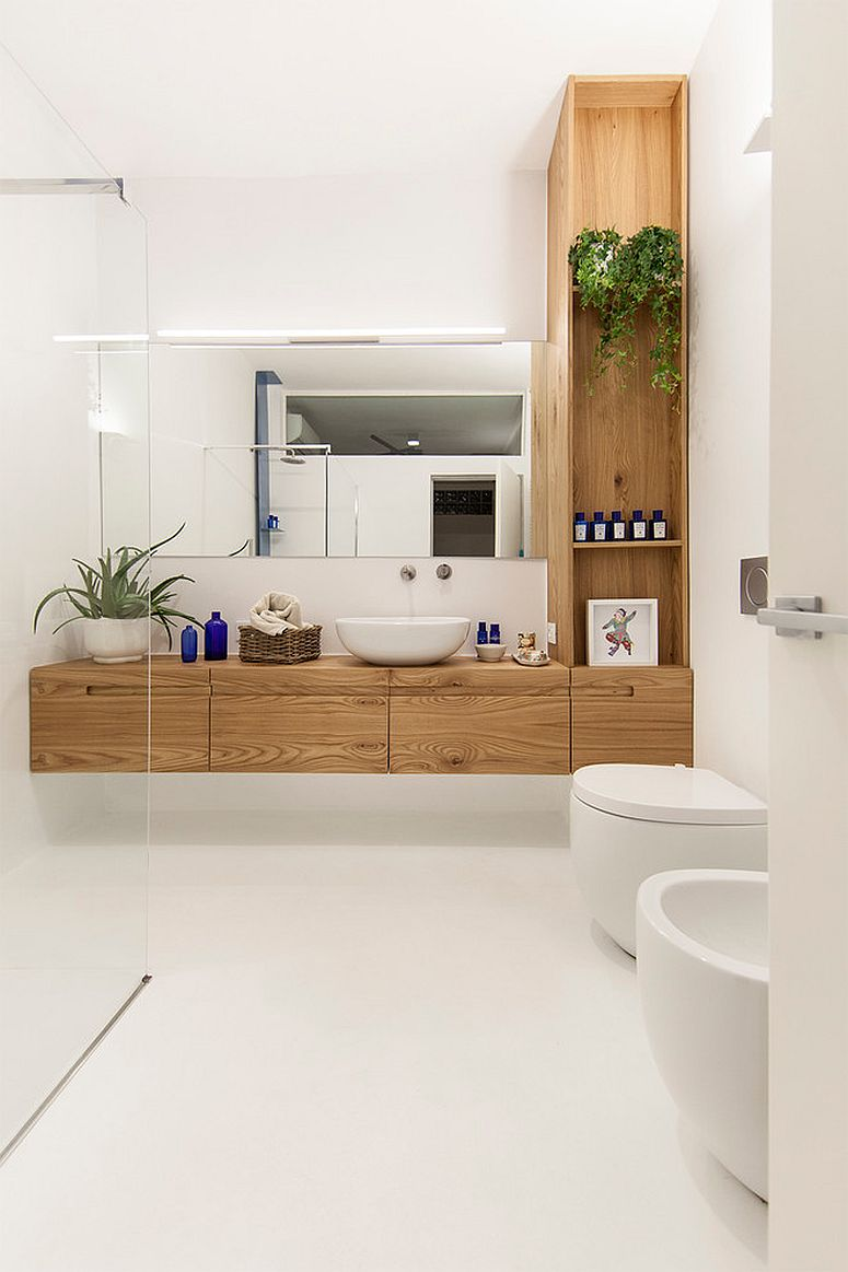 1563478668 933 25 cool bathroom color trends for summer and beyond - 25 Cool Bathroom Color Trends for Summer and Beyond