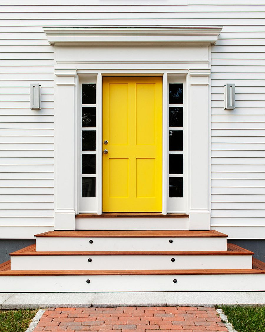 1563981778 128 right first impressions 30 trendy front doors to enliven the entry - Right First Impressions: 30 Trendy Front Doors to Enliven the Entry