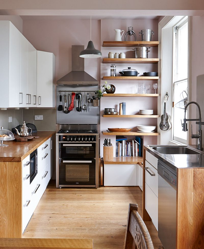 1564167087 249 75 small kitchen solutions to make them brighter and space savvy - 75 Small Kitchen Solutions to Make Them Brighter and Space-Savvy