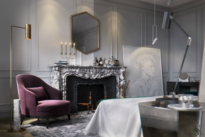 Ultra Glamorous and Sophisticated apartment interior design 5