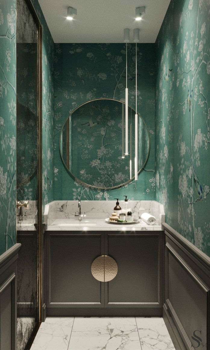 Ultra Glamorous and Sophisticated apartment interior design 7
