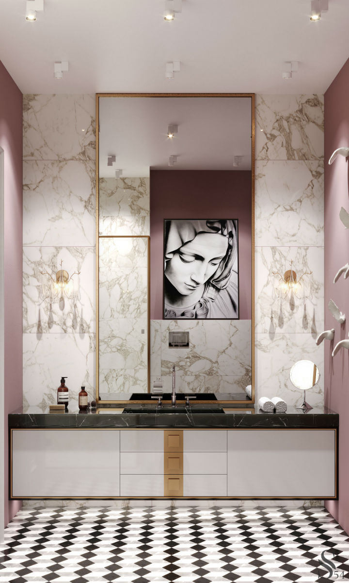 Ultra Glamorous and Sophisticated apartment interior design 8