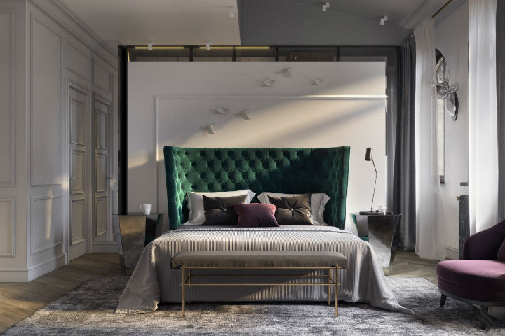 Ultra Glamorous and Sophisticated apartment interior design 4