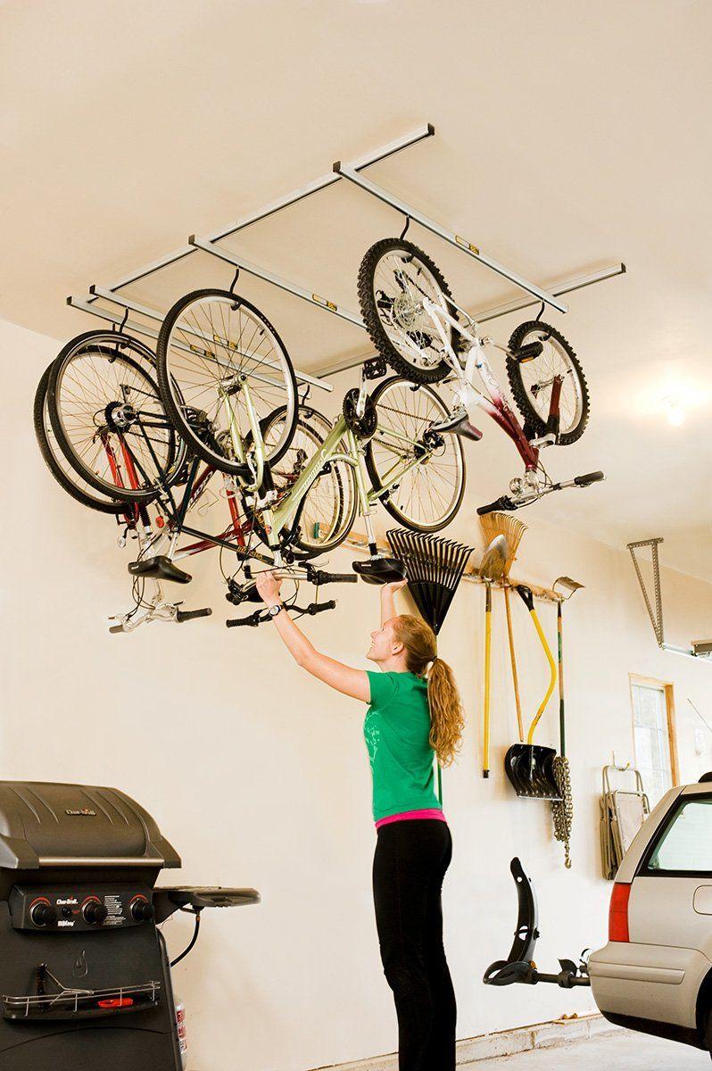 1564579598 965 bike storage ideas for the garage that will free up space in no time - Bike Storage Ideas For The Garage That Will Free Up Space In No Time