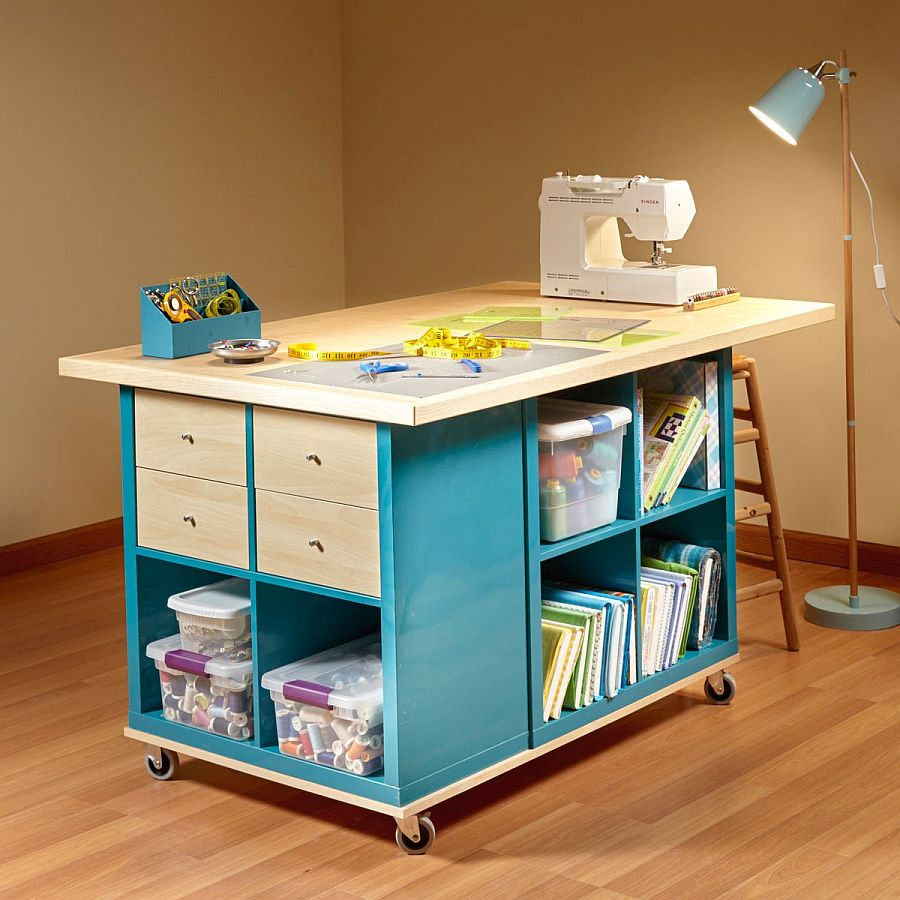 20 diy craft tables and desks - 20 DIY Craft Tables and Desks