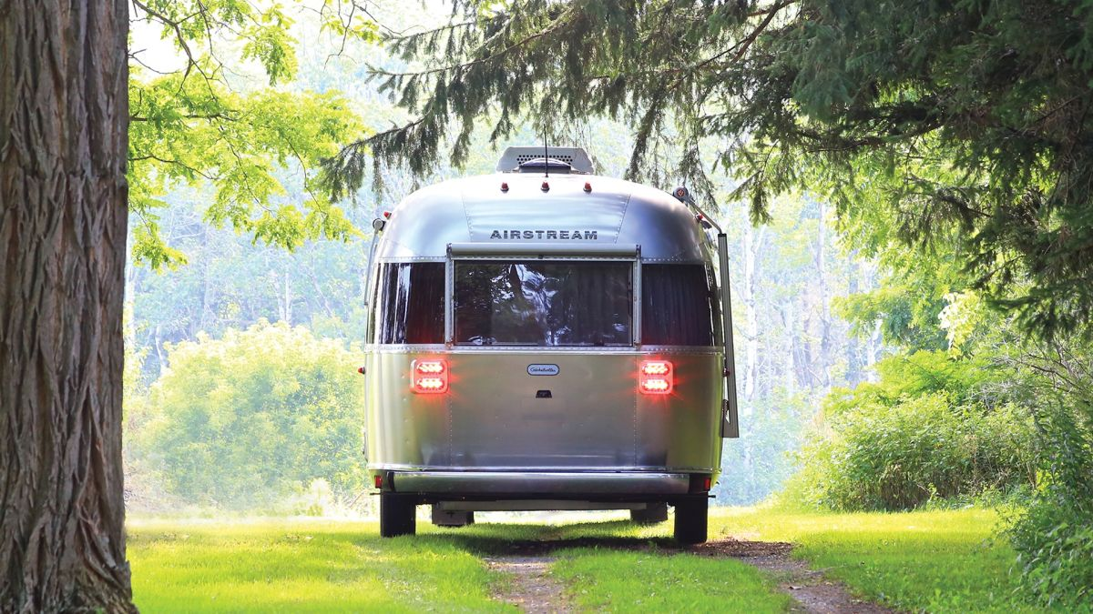 iconic airstream camper trailer is a luxury getaway on wheel - Iconic Airstream Camper Trailer is a Luxury Getaway on Wheel