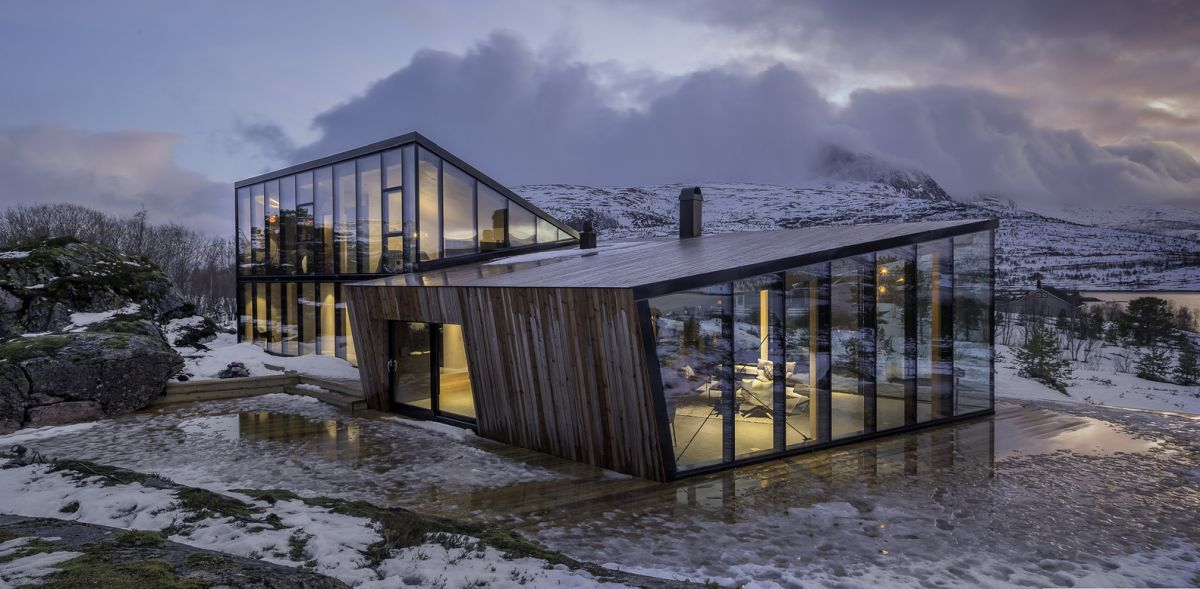 stunning norwegian cabin in tune with the sun and its beautiful surroundings - Stunning Norwegian Cabin In Tune With The Sun And Its Beautiful Surroundings