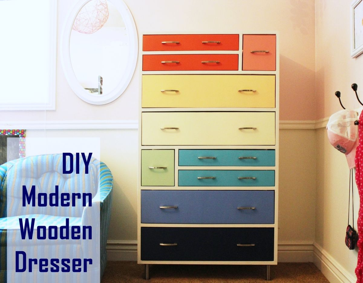 10 diy dresser projects with outstanding results - 10 DIY Dresser Projects With Outstanding Results