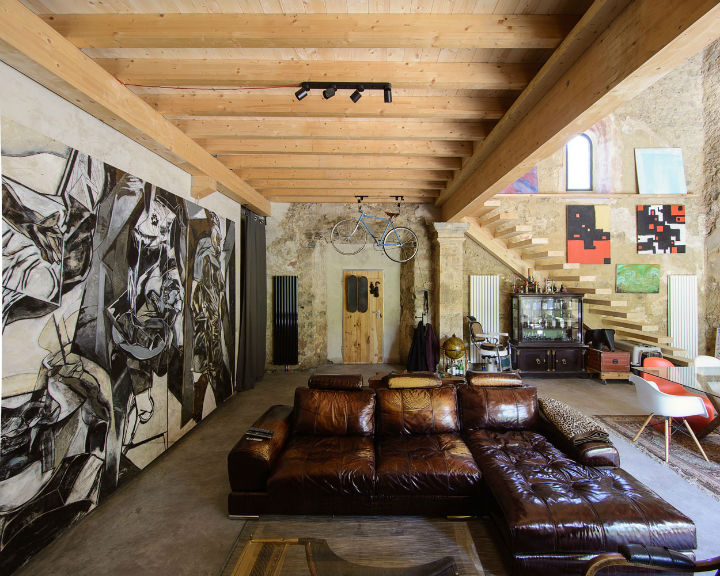 Historic Stone Church Turned Into a Modern Home 12