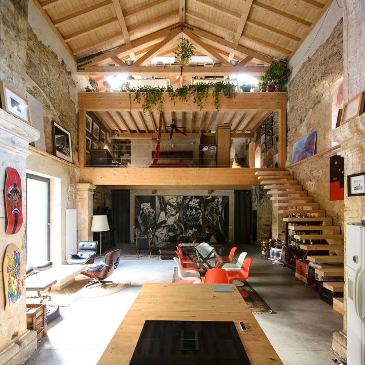 Historic Stone Church Turned Into a Modern Home 5