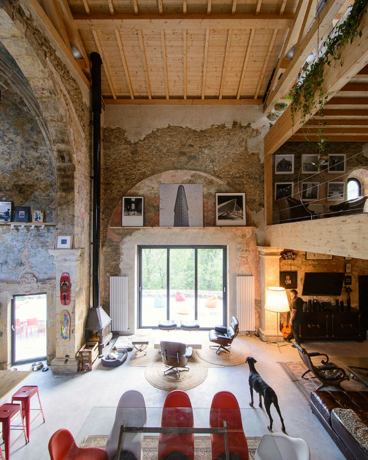 Historic Stone Church Turned Into a Modern Home 8