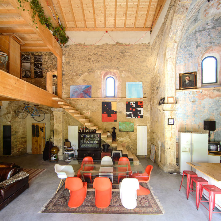 Historic Stone Church Turned Into a Modern Home 7