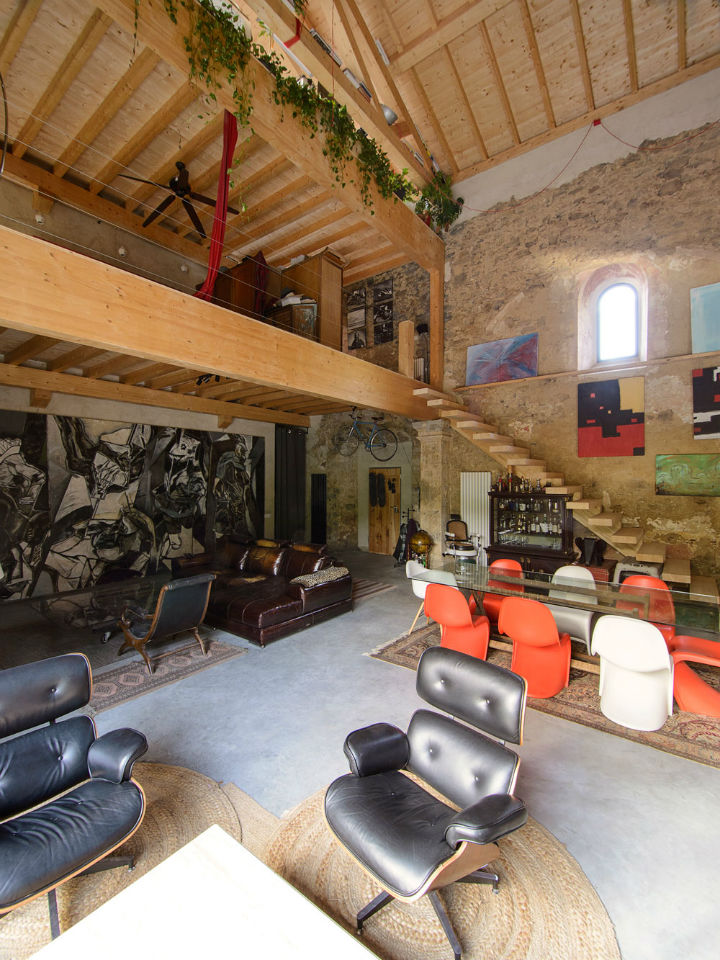 Historic Stone Church Turned Into a Modern Home 6