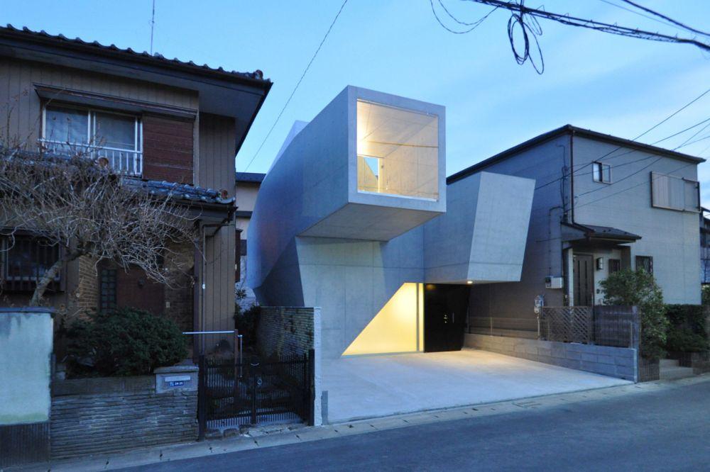 1564743861 454 concrete dominates these japanese brutalist homes both inside and out - Concrete Dominates These Japanese Brutalist Homes, Both Inside and Out