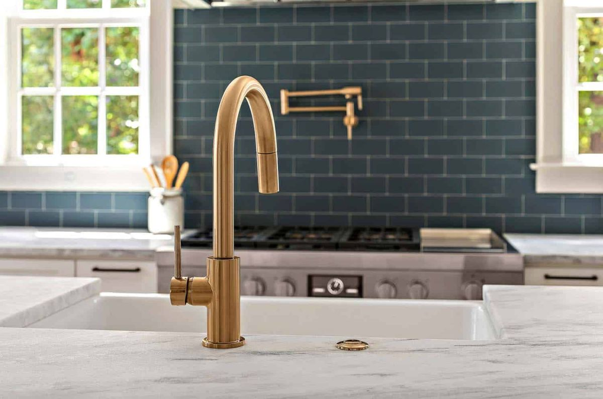 The fixtures, hardware and other little details add color and style throughout the house