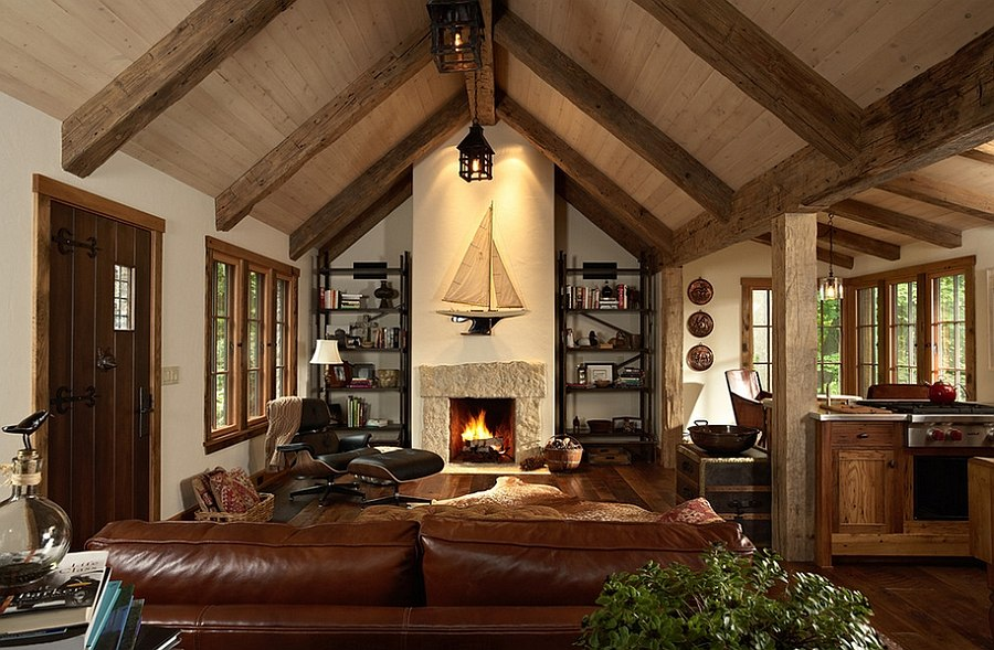 1565163361 122 spectacular and cozy living rooms with ceiling beams 25 trendy ideas inspirations - Spectacular and Cozy Living Rooms with Ceiling Beams: 25 Trendy Ideas, Inspirations