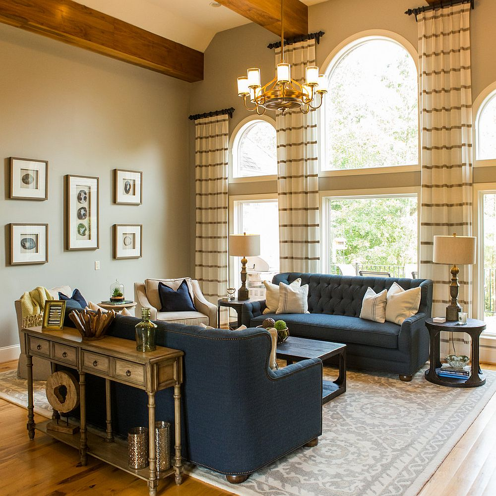 1565163361 446 spectacular and cozy living rooms with ceiling beams 25 trendy ideas inspirations - Spectacular and Cozy Living Rooms with Ceiling Beams: 25 Trendy Ideas, Inspirations