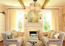 1565163361 463 spectacular and cozy living rooms with ceiling beams 25 trendy ideas inspirations - Spectacular and Cozy Living Rooms with Ceiling Beams: 25 Trendy Ideas, Inspirations