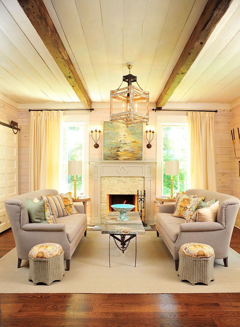 1565163362 725 spectacular and cozy living rooms with ceiling beams 25 trendy ideas inspirations - Spectacular and Cozy Living Rooms with Ceiling Beams: 25 Trendy Ideas, Inspirations