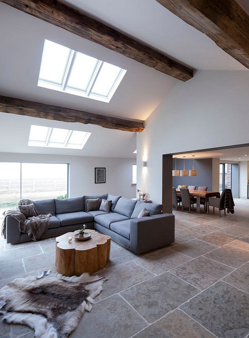 1565163362 83 spectacular and cozy living rooms with ceiling beams 25 trendy ideas inspirations - Spectacular and Cozy Living Rooms with Ceiling Beams: 25 Trendy Ideas, Inspirations
