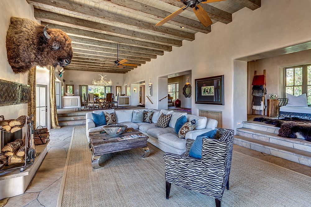 1565163362 977 spectacular and cozy living rooms with ceiling beams 25 trendy ideas inspirations - Spectacular and Cozy Living Rooms with Ceiling Beams: 25 Trendy Ideas, Inspirations