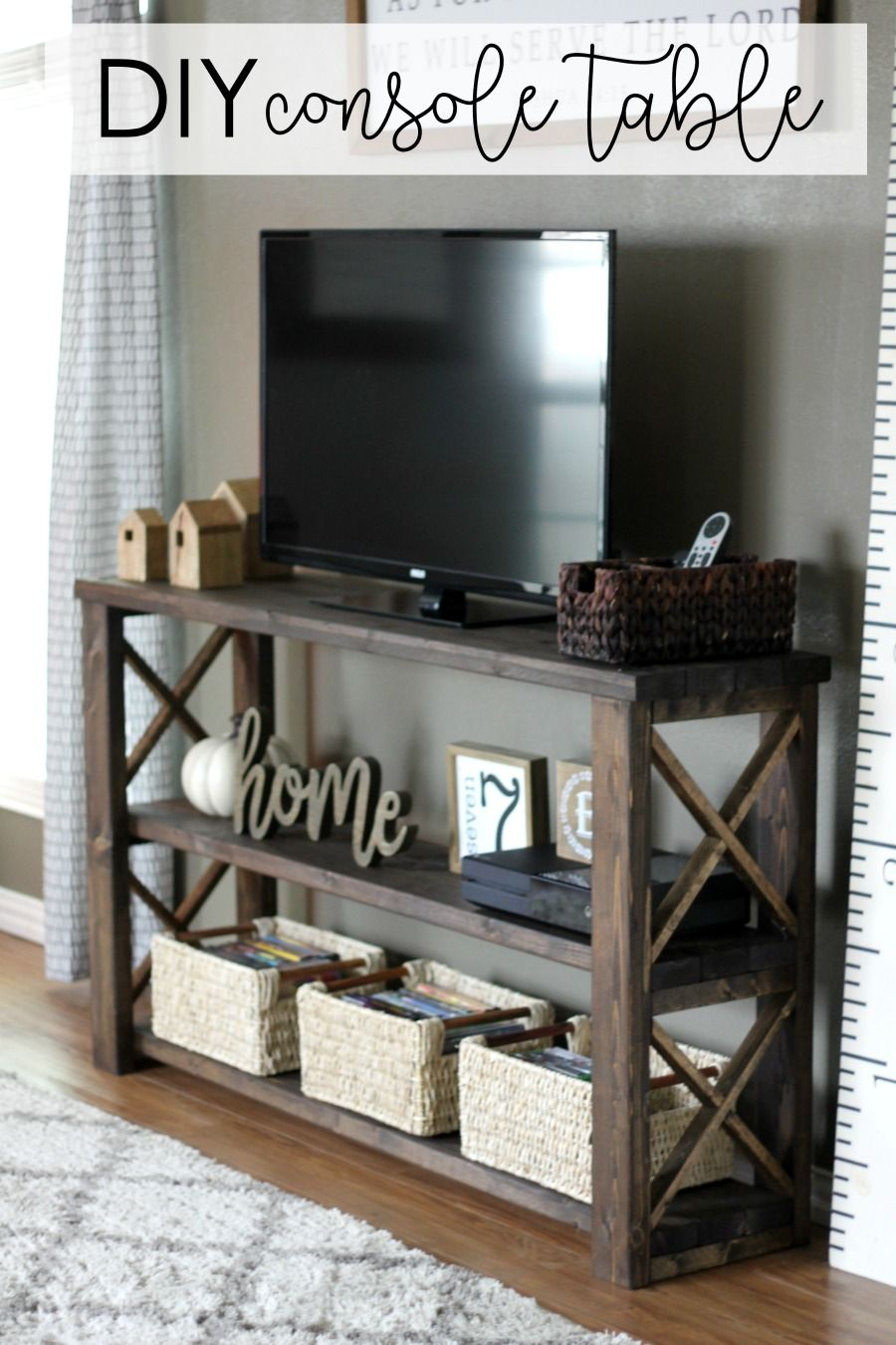 1565261388 14 farmhouse tv stand ideas with extra charming designs - Farmhouse TV Stand Ideas With Extra Charming Designs