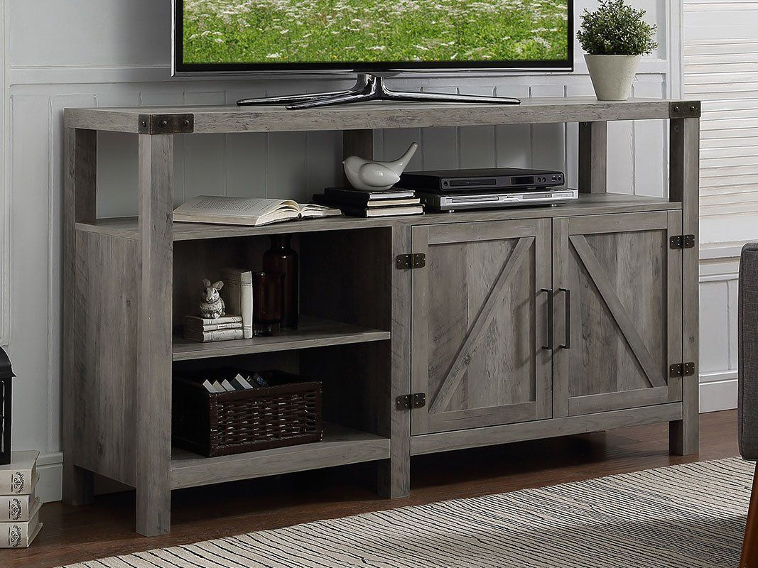 1565261388 450 farmhouse tv stand ideas with extra charming designs - Farmhouse TV Stand Ideas With Extra Charming Designs