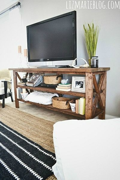 1565261388 544 farmhouse tv stand ideas with extra charming designs - Farmhouse TV Stand Ideas With Extra Charming Designs