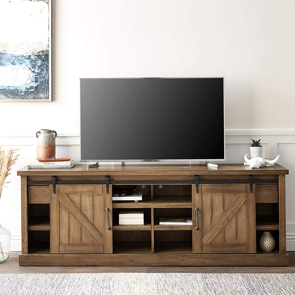 1565261388 755 farmhouse tv stand ideas with extra charming designs - Farmhouse TV Stand Ideas With Extra Charming Designs