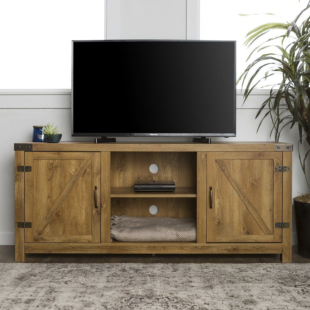 1565261388 962 farmhouse tv stand ideas with extra charming designs - Farmhouse TV Stand Ideas With Extra Charming Designs