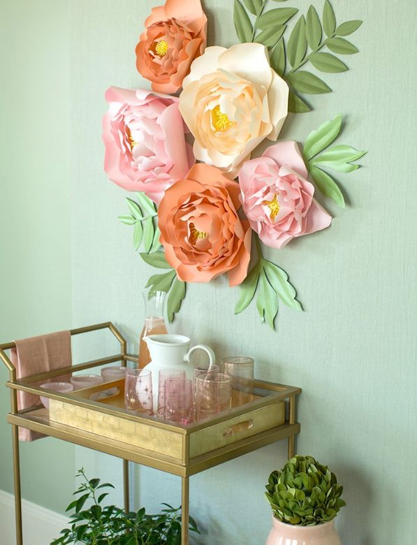 1565617262 839 diy paper flowers and how to decorate your home with them - DIY Paper Flowers and How To Decorate Your Home With Them