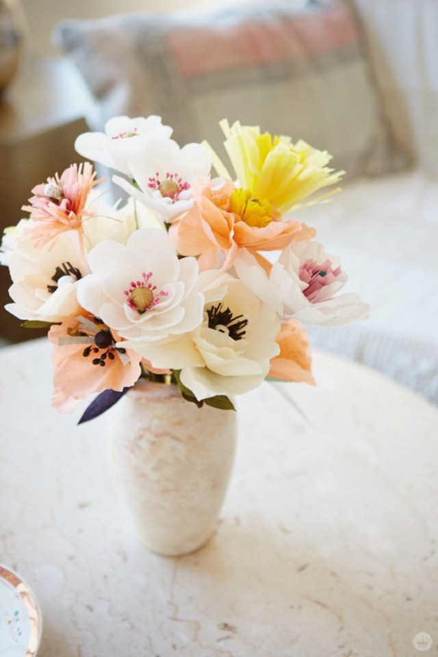 1565617262 876 diy paper flowers and how to decorate your home with them - DIY Paper Flowers and How To Decorate Your Home With Them
