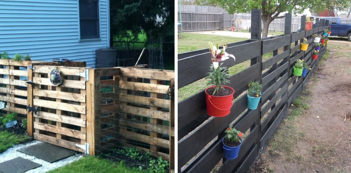 1566477702 796 10 simple fence ideas for those who love to do things themselves - 10 Simple Fence Ideas For Those Who Love To Do Things Themselves