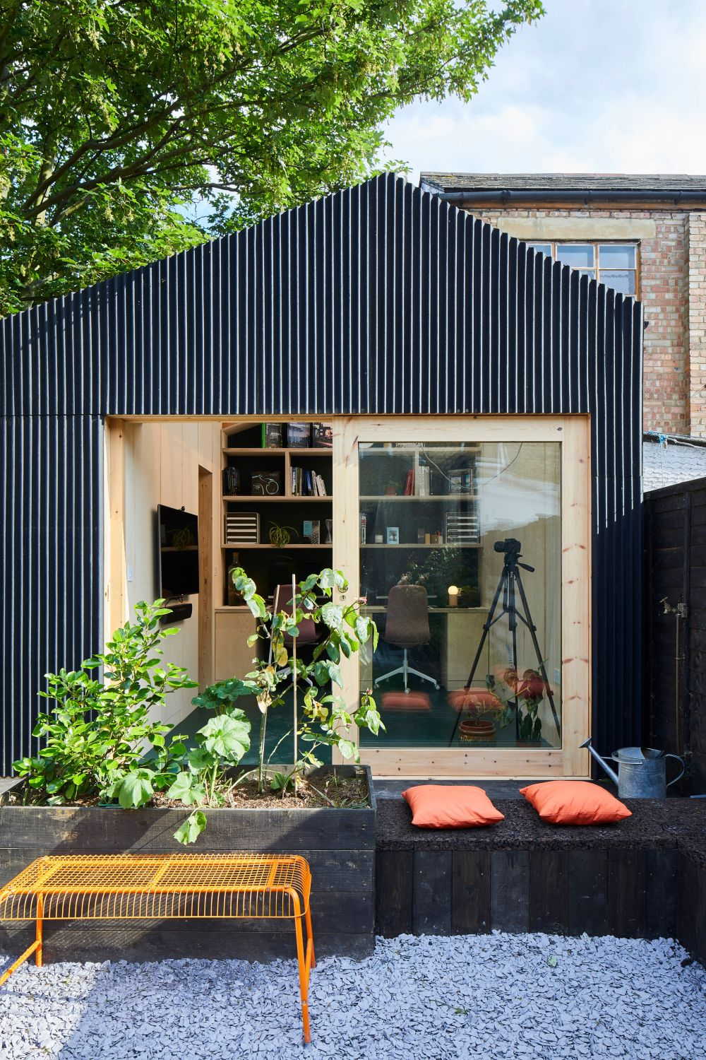Fiberglass Garden Shed Becomes An Architect's New Studio