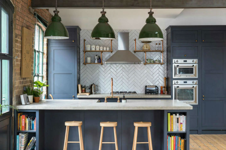 London Warehouse turned into industrial home 5