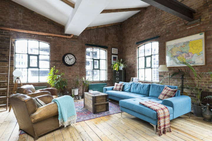 London Warehouse turned into industrial home 13